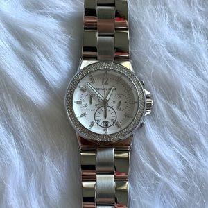 MICHAEL KORS - silver watch